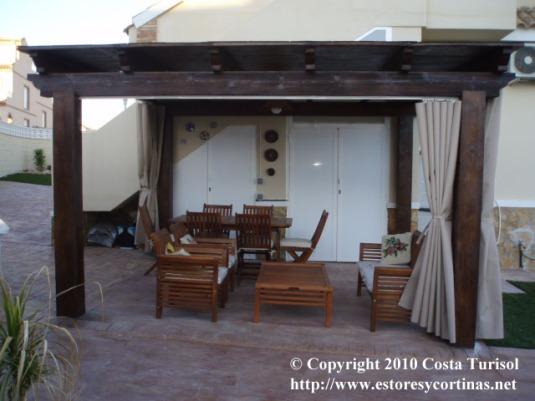 Cortinas para terraza el blog de decoraci n interior for Cortinas para terrazas exteriores