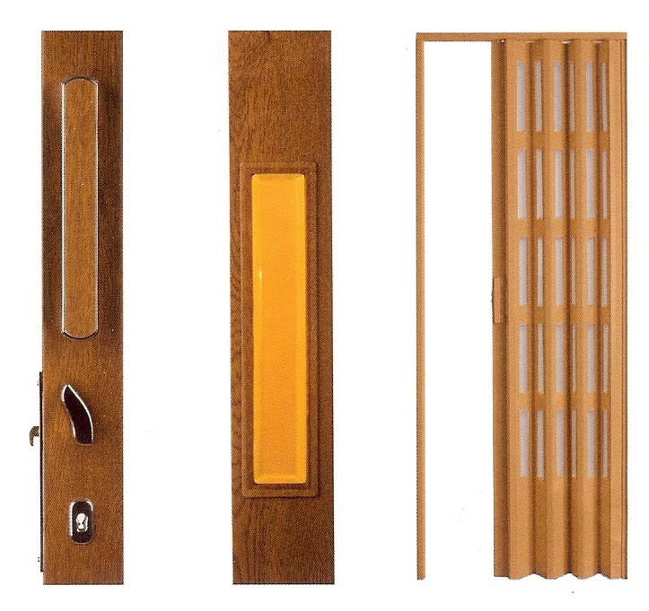 Detalles puertas plegables