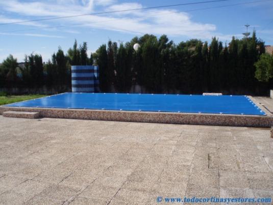 Cobertor solar sol guard el blog de decoraci n interior for Toldo piscina precio